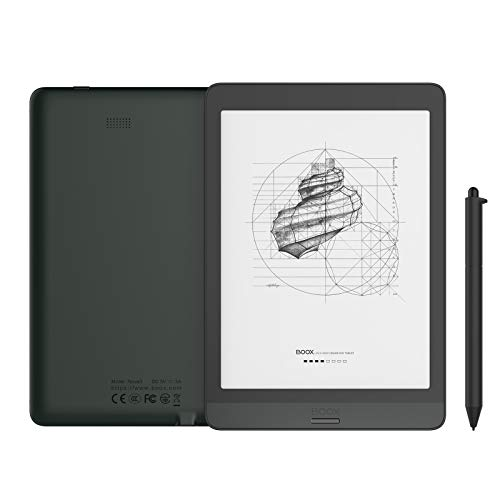 BOOX Nova3 7,8 inch E-Book Tablet Android 10.0 voorlicht CTM 32GB 300dpi HD OTG WiFi BT USB-C zwart