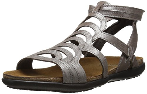 Leather Sandals Threads Womens Silver Sara Naot qREfR