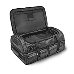More functional than a traditional duffel, more versatile than a dedicated travel bag. The HEXAD Duffel series was designed to go where no duffels have gone before. The HEXAD Access Duffel features a clamshell opening that gives you complete ...