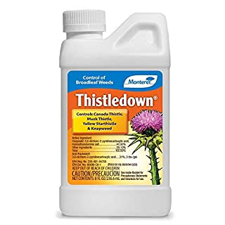 Monterey LG5482 Thistledown Weed Killer Thistle and Clover Control Concentrate, 8 oz