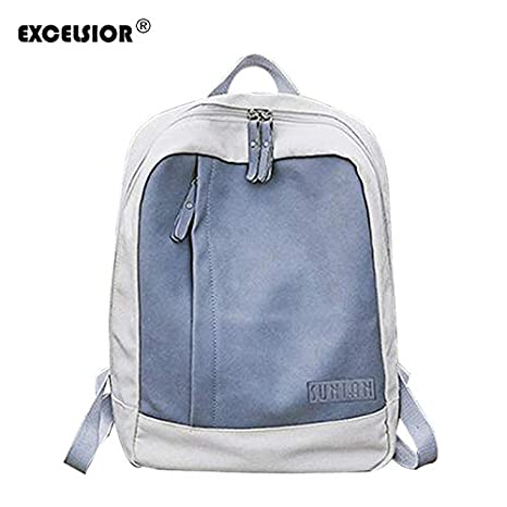 Amazon.com: 2018 Womens Backpack Hot Korean Version Patchwork Colorful Canvas Bag Couple School Bags G1727: Kitchen & Dining