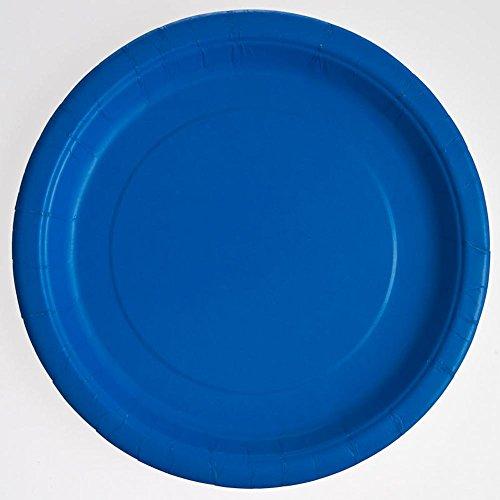 Royal Blue Paper Plates, 16ct -