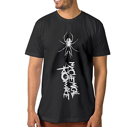 Show Time Men's My Chemical Romance Short Sleeve Classic Tshirt Black 3X