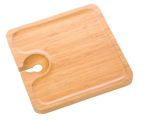 Snack Bamboo Appetizer Plate from True
