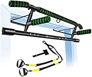 Pull Up Bar Doorway Fitness Chin-Up Bar Frame for Home Gym Exercise with Shortened Handle Bar & Profession