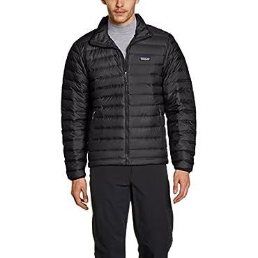 Patagonia Men's Down Sweater Jacket, Black