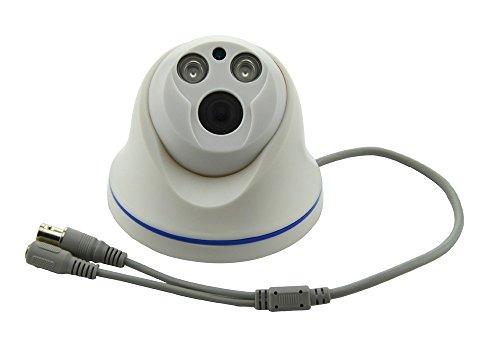 Aweek 1/3' Sony CCD1200TVL Mini IR Dome Indoor Security CCTV