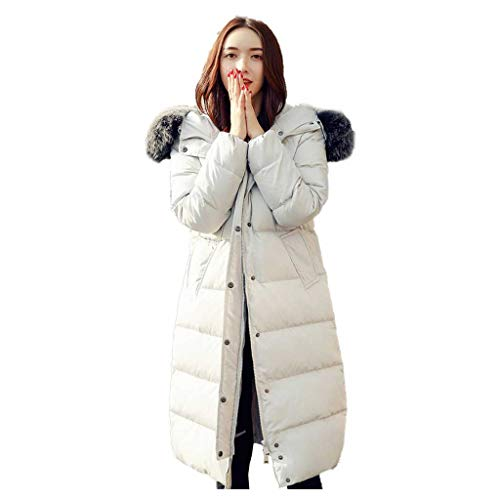 Vêtements Coréenne Veste Décontractée Duvet Longue White La Grayish Section Femmes D'hiver De Épais Version En Pour Urbaine Dans r6x7rzv