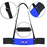 DEFY Heavy Duty Arm Blaster for Biceps and Triceps Workout Ideal Bicep Isolator & Muscle Builder for Bodybuilders and Weight Lifters with Advanced Neoprene Padding for Secure Workout (Blue)