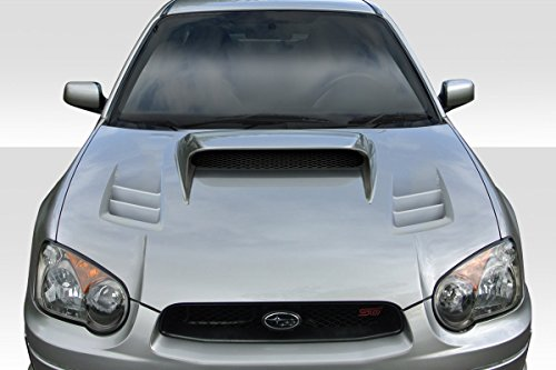 Duraflex ED-AST-030 TS-1 Hood - 1 Piece Body Kit - Compatible For Subaru Impreza 2004-2005