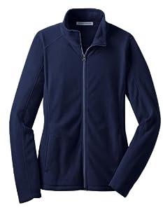 Port Authority L223 Ladies Microfleece Jacket,Medium,True Navy