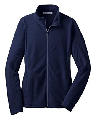 Port Authority L223 Ladies Microfleece Jacket - True Navy - XS