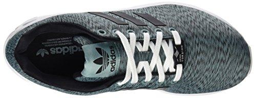 Adidas Damen Zx Flux Schoenen Grijs (damp Stalen Kern / Zwart / Wit Ftwr)