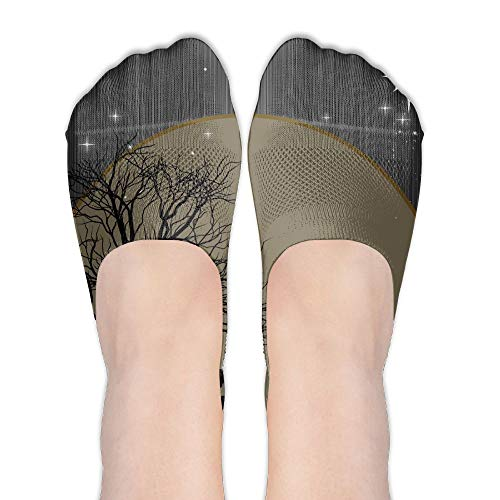 Manger Life is Born Women's Polyester Cotton Socks Ladies Boat Socks Deodorant Boat Socks Thin Section Casual Socks Low Breast Socks