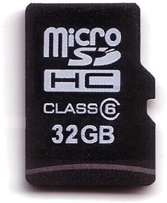 KOMPUTERBAY 32GB MicroSD SDHC Microsdhc Class 6 with Micro SD Adapter and N111 USB Adapter