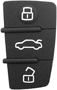 Ersatzgummi Mit 3 Tasten Für Autoschlüssel Schwarz Elektronik