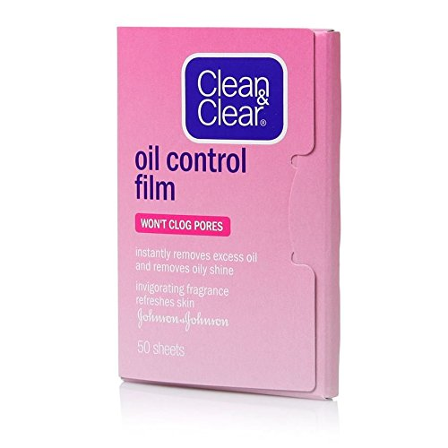Clean & Clear Oil Control Film Absorb Blotting Paper Grapefruit ,50 Sheets