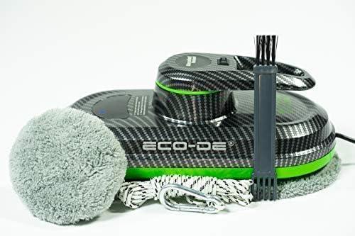 Absolut Carbon Window Cleaner WINCLEAN Automatique, pour fenetres, 3 programmes, 12 chiffons microfibres incluses ECO-996 ECO-DE - Home Robots