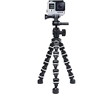 "The Professional Flexible Bendipod For Canon PowerShot SX420 IS Camera, 8"" Tripod - Quick Release - Sturdy Grip - Every Day Use!"