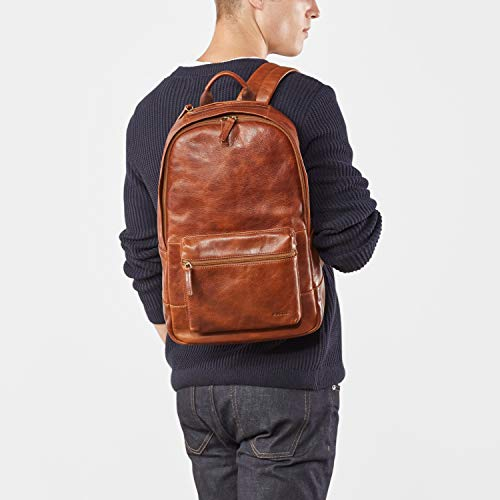 Fossil Men's Leather Estate Backpack