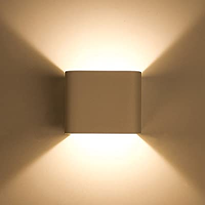 Lightess Wall Sconces Wall Lights LED 5W Aluminum Up Down Design 2700K Warm White