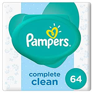 Pampers Fresh Clean Baby Wipes, 64 Count,