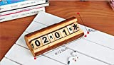 Labu Store Creative Manual Wooden Calendar