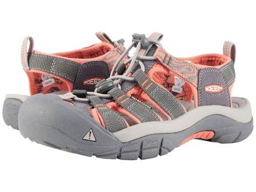 Keen(キーン) レディース 女性用 シューズ 靴 サンダル Newport Hydro - Magnet/Coral [並行輸入品]