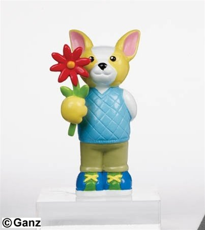 (Webkinz Mini PVC Figure True Friends Chihuahua)