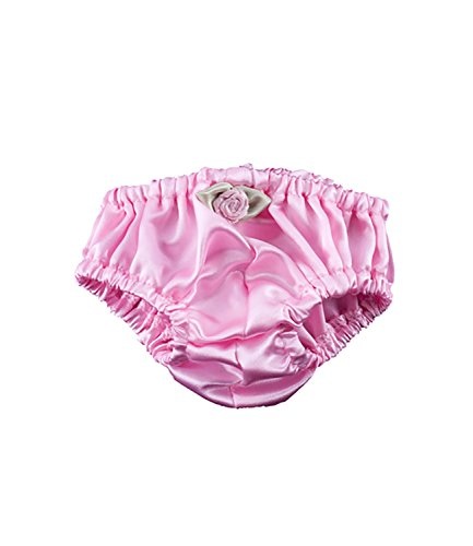 Pink Silky Panties for Teddy Bear Clothes Fits 14 inch to 18 inch Build-a-bear, Vermont Teddy Bears, and Make Your Own Stuffed (Silky Bear)