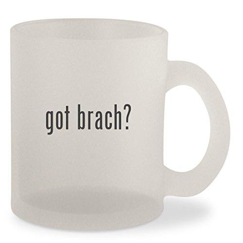got brach? - Frosted 10oz Glass Coffee Cup Mug