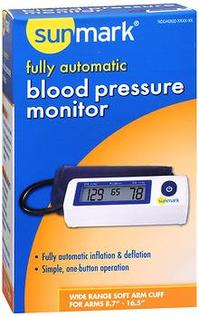 Sunmark Fully Automatic, Blood Pressure Monitor - 1 ct