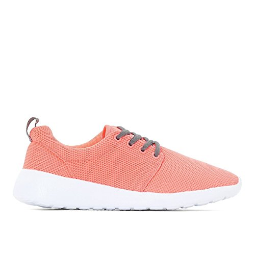 La Redoute Collections Lace-up Trainers, Size 33-40 Pink Size 34 by La Redoute