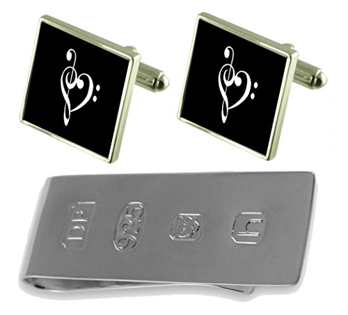 Bond Money Love Clip Musical Cufflinks Heart amp; Musical Love James xUwqPB0O8