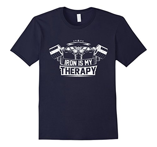 Mens No Pain No Gain, Iron Therapy Workout T-Shirt Bodybuilding XL - Store Bodybuilding.com