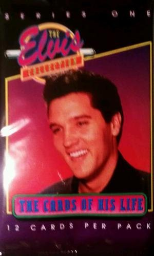 "1992 Elvis Presley ""The Elvis Collection"" Series 1 Trading Cards Pack (12cards/pack)"
