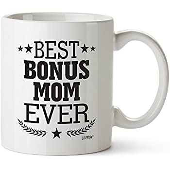 Amazon.com: Christmas Step-Mom Gifts Step Mom Mother's Day Gifts Birthday Gift Greatest Funny ...