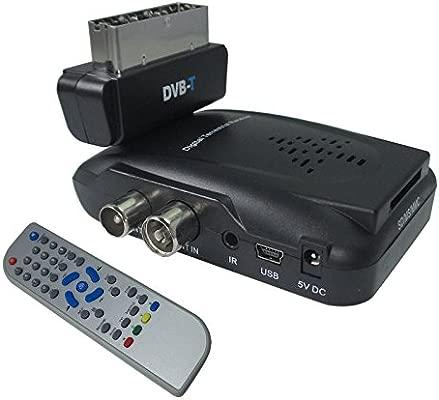 MINI RECEPTOR DIGITAL TERRESTRE DVB-T SCART 180° RECORDER ...