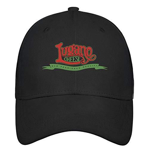 - Unisex Baseball Cap Lugano Cheese Logo Stylish Fitted Trucker Adjustable Fits Baseball Caps