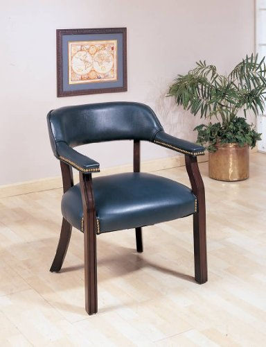 Used, Office Chairs Traditional Upholstered Vinyl Side Chair for sale  Delivered anywhere in USA