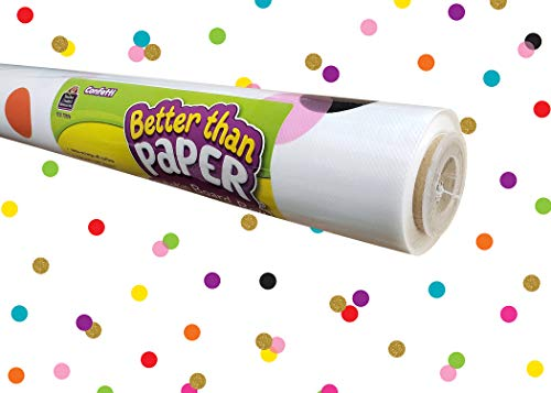 Confetti Better Than Paper Bulletin Board Roll -