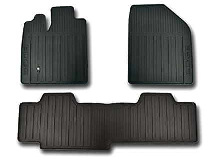 Oem Factory Black Ford Edge Vinyl Floor Mats