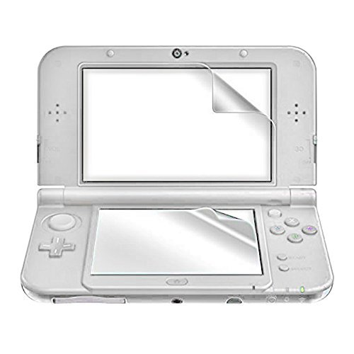 TNP New 3DS XL Screen Protector - Ultra Clear High Definition HD LCD Screen Protector Film Guard Skin Shield for New Nintendo 3DS XL 2015 Release by TNP Products - New Lcd Guard