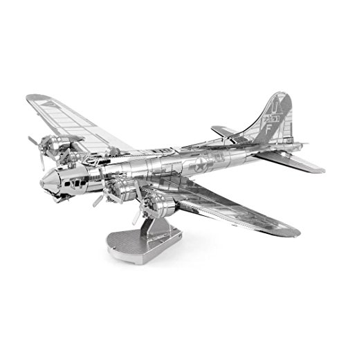 Plane Space Boeing (Metal Earth Fascinations MMS091 502489 Boeing B-17 Flying Fortress Construction Toy 2 Metal Board (Ages 14 +)