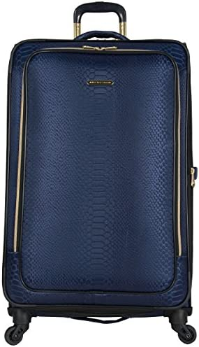 Aimee Kestenberg Women's Parker 28 Jacquard Polyester Expandable 4-Wheel Spinner Checked Luggage