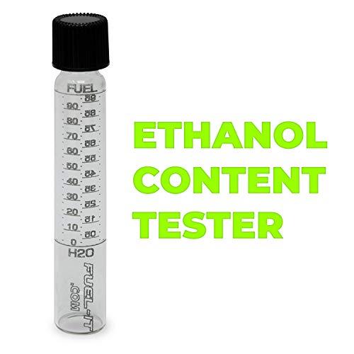 (Glass Laser Etched Ethanol Content Fuel Tester for Ethanol, E85, Gasoline)