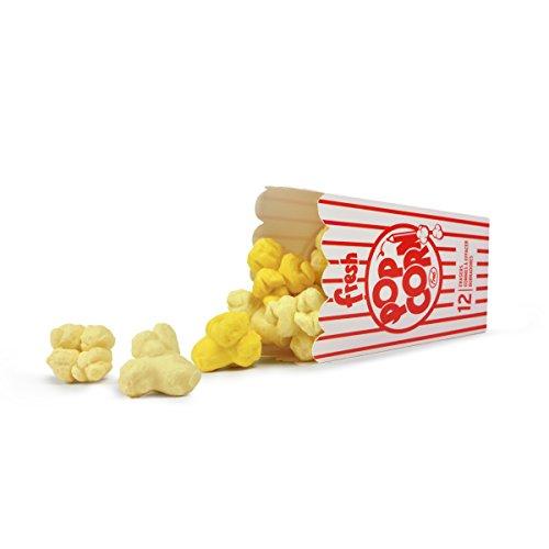 Fred & Friends Fred Fresh Popcorn Erasers, Set of 12, 12 Piece - Erasers 12 Piece