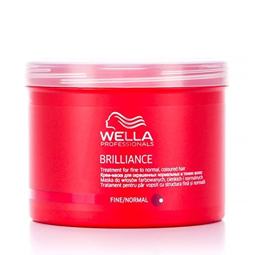 Wella Professionals WPC Brilliance Treatment For Fine Hair Number 500 ml by Wella (Brilliance Treatment Mask)