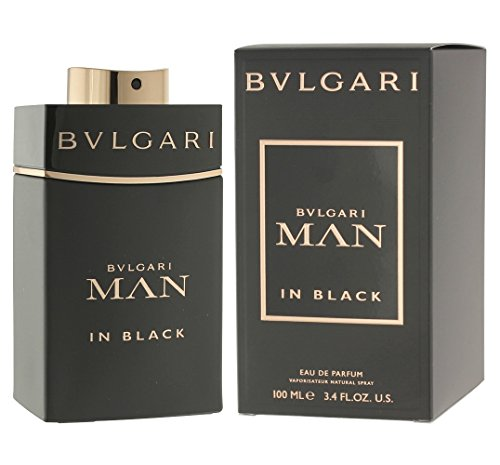 Price comparison product image Bvlgari Man in Black Eau de Parfum Spray for Men,  3.4 Ounce