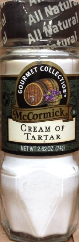 McCormick Gourmet CREAM OF TARTAR 2.62oz (8 Pack) by McCormick
